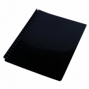Cumberland display book refillable A4 20 pocket black