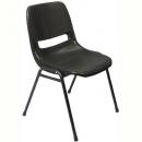 Rapidline stacking chair polypropylene black