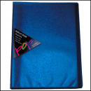 Colby pop display book 10 pockets blue