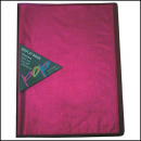 Colby pop display book 10 pockets pink