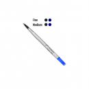 Parker rollerball pen refill medium blue