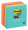 Post-it super sticky notes miami 76 x 76mm 90 sheet pack 5