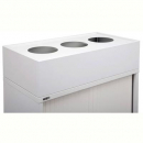 Go steel planter box 1200mm white china