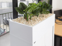 Go steel planter box 900mm white china