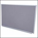 Rapidline aluminium framed pinboard 1200 x 900mm grey