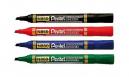 Pentel permanent marker chisel point 1.5-4.5mm blue