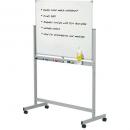 Penrite quartet mobile magnetic whiteboard 900 X 1200mm