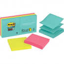 Post-it pop up notes 76x76 super sticky miami pack 6