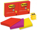 Post-it pop-up notes 76x76mm assorted jaipur pack 6