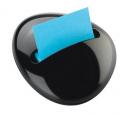 Post-it pop-up notes pebble dispenser black