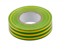 PVC insulation tape 19mm x 20m yellow green