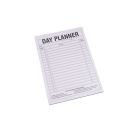 Quill day planner pad A4 50 leaf 70gsm