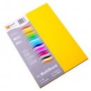 Quill multi board A4 210gsm pack 50 lemon