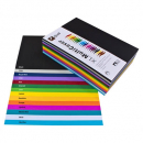 Quill cover paper A4 125gsm pack 500 assorted