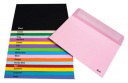 Quill 93013 coloured envelope C6 pack 25 musk
