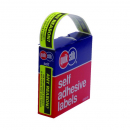 Quik stik dispenser label any reason 19x63mm 125 labels