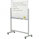 Penrite quartet mobile whiteboard double sided 1800 x 1200mm