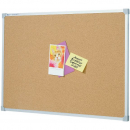 Quartet aluminium framed corkboard  1800 x 900mm