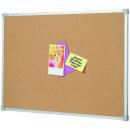 Penrite aluminium framed corkboard 2400 x 1200mm