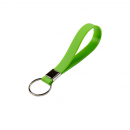 Rexel key ring soft touch green