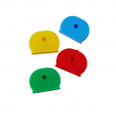 Rexel key toppers coloured assorted pack 4