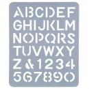 Esselte letter stencil 51mm
