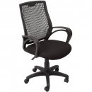 Rapidline operator chair medium back black