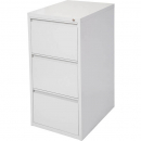 INITIATIVE FILING CABINET 3 DRAWER 464 X 620 X 980MM SILVER GREY