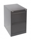 Go steel filing cabinet 2 drawers 460 x 620 x 705mm