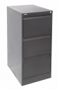 Go steel filing cabinet 3 drawers 1016 x 460 x 620mm