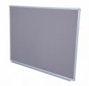 Rapidline pinboard aluminium frame 900 x 600mm grey