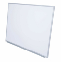 Rapidline whiteboard wall mounted magnetic aluminium frame with pen tray 900 x 600mm