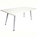 Rapid span meeting table 1800 x 900mm grey