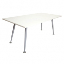 Rapid span meeting table 1800 x 900mm white