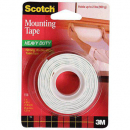 3M scotch heavy duty foam mounting tape 25.4mm x 1.27m