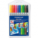Staedtler norris markers assorted pack 10