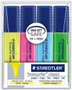 Staedtler textsurfer classic highlighter pack 4