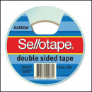 Sellotape 960602 double sided tape 12mm x 33m roll