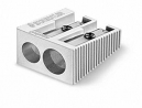 Staedtler metal pencil sharpener dual hole