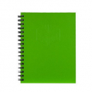 Spirax hard cover notebook A5 200pages green