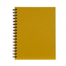 Spirax hard cover notebook A5 200 pages yellow