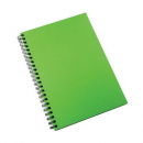 Spirax hard cover notebook A4 200 pages green