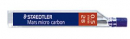 Staedtler mars micro carbon mechanical pencil leads 0.5mm tube 12 2B