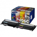 Samsung cltp406c laser toner cartridge value pack