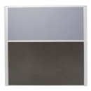 Rapid screen screen 1250 x 1200mm grey