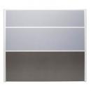 Rapid screen screen 1650 x 1500mm grey