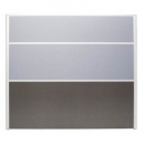 Rapid screen screen 1650 x 1800mm grey