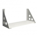 RAPID SCREEN SHELF BRACKET PRECIOUS SILVER PACK 2