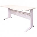 RAPID SPAN ELECTRIC HEIGHT ADJUSTABLE DESK 1200 X 700MM WHITE