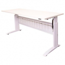 RAPID SPAN ELECTRIC HEIGHT ADJUSTABLE DESK 1800 X 700MM WHITE